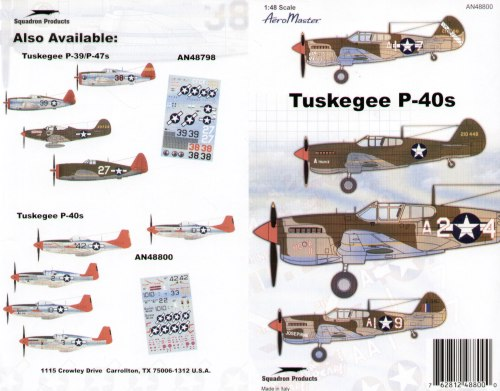 Tuskegee P-40s.