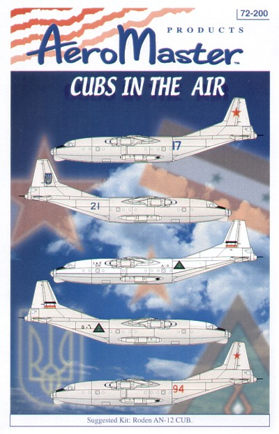 AN-12 Cubs In The Air (AN-12 Cub)