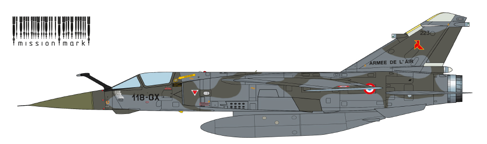 MISSION MARK DECALS