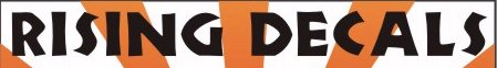 RISING DECALS-Aircraft decals (military)
