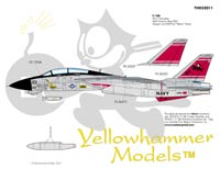 YELLOWHAMMER Aircraft decals (military)